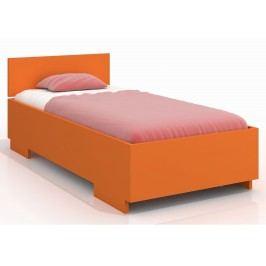 Jednolůžková postel 90 cm - Naturlig Kids - Larsos High (borovice) (s roštem)