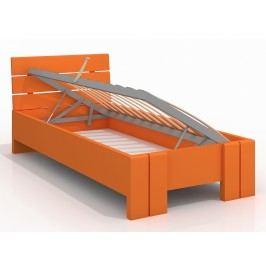 Jednolůžková postel 90 cm - Naturlig Kids - Tosen High BC (borovice) (s roštem)