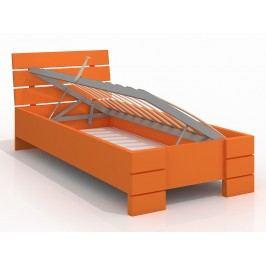 Jednolůžková postel 120 cm - Naturlig Kids - Lorenskog High BC (borovice) (s roštem)