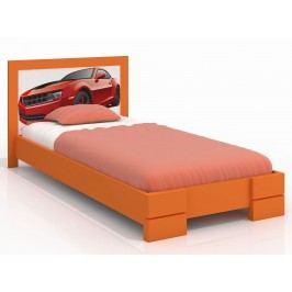 Jednolůžková postel 120 cm - Naturlig Kids - Storhamar (borovice) (s roštem)