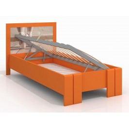 Jednolůžková postel 120 cm - Naturlig Kids - Manglerud High BC (borovice) (s roštem)