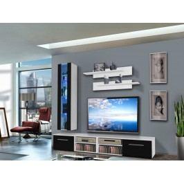 Obývací stěna - ASM - Invento - 25 WS IN E1 (s osvětlením)