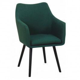 Jídelní židle Dabir (smaragdová)