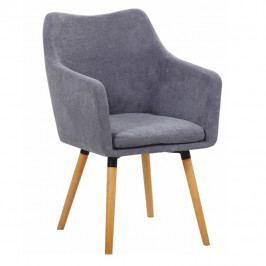 Jídelní židle Dabir (šedá)