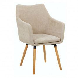 Jídelní židle Dabir (béžová)