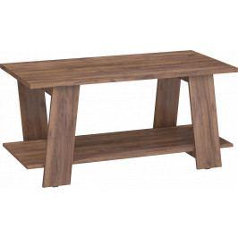 Konferenční stolek Via 02 (craft tobaco)