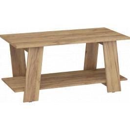 Konferenční stolek Via 02 (craft zlatý)