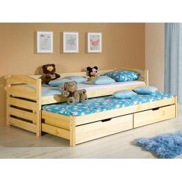 Rozkládací postel 80 cm Toho (s rošty a úl. prostorem)