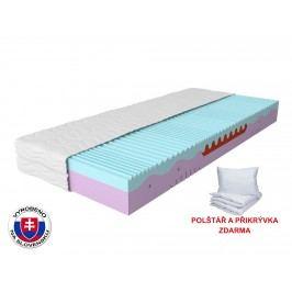 Pěnová matrace - Styler - Memo Plus - 200x80 cm (T3) *polštář+prikrývka ZDARMA