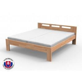 Manželská postel 160 cm - Styler - Nela (masiv buk)