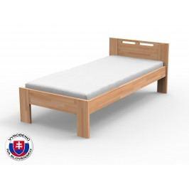 Jednolůžková postel 90 cm - Styler - Nela (masiv buk)