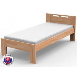 Jednolůžková postel 120 cm - Styler - Nela (masiv)