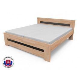 Manželská postel 170 cm - Styler - Salma (masiv)