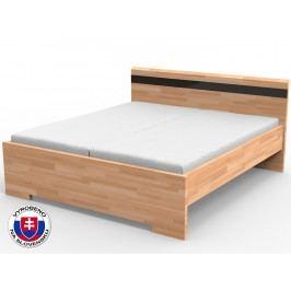 Manželská postel 140 cm - Styler - Mona (masiv)