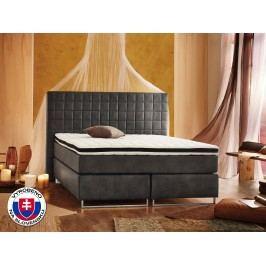 Manželská postel Boxspring 180 cm - Styler - Lux (s matracemi)