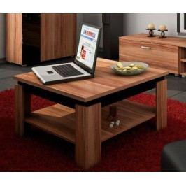 Konferenční stolek - WIP - Alfa (Švestka + Lesk černý)