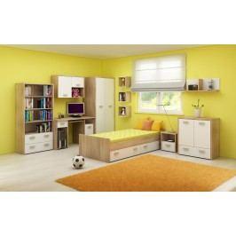 Dětský pokoj - WIP - Kitty 2 Sonoma světlá + bílá