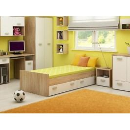 Jednolůžková postel 90 cm - WIP - Kitty - KIT 05
