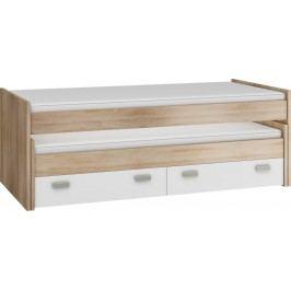 Rozkládací postel 90 cm - WIP - Kitty - KIT 07 (s rošty)