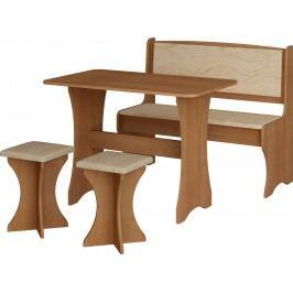 Jídelní set - WIP - monaco (s taburetkami) (pro 4 osoby)
