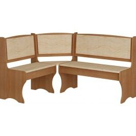 Rohová lavice - WIP - olše + monaco