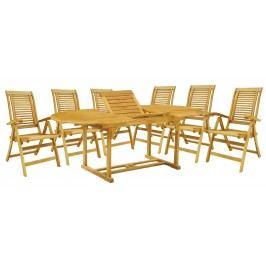 Zahradní nábytek - Hecht - Camberet set 1+6 (akácie)