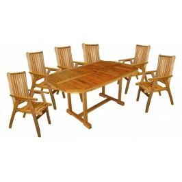 Zahradní nábytek - Hecht - Rounded set