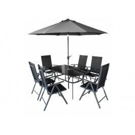 Zahradní nábytek - Hecht - Shadow 1+6+Slunečník