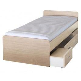 Jednolůžková postel 90 cm - Duet 80262 javor - 23