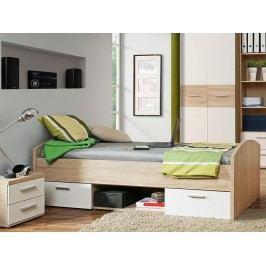 Jednolůžková postel 90 cm - Winie - WNL 09 Q36