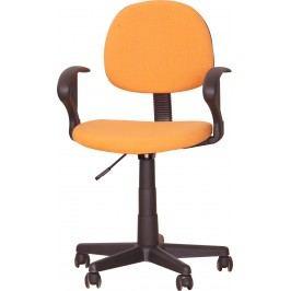 Kancelářská židle - TC3-227 oranžová