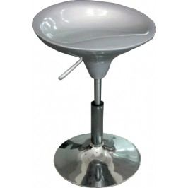 Barová židle - Karmin New stříbrná