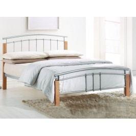 Manželská postel 140 cm - Mirela (s roštem)