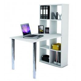 Psací stůl - Bexinton 205604 (s regálem)