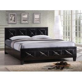Manželská postel 160 cm - Carisa (s roštem)