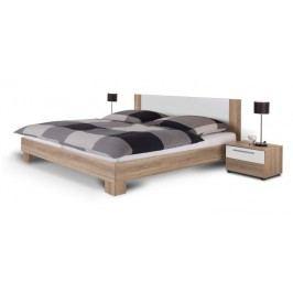 Manželská postel 180 cm + 2 noč. stolky - Martina dub sonoma