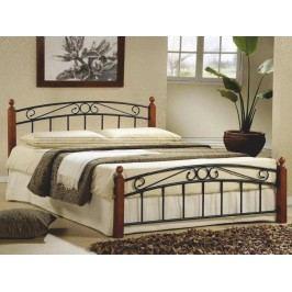Manželská postel 140 cm - Dolores (s roštem)
