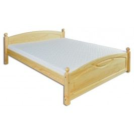 Manželská postel 200 cm - Drewmax - LK 103 (masiv)
