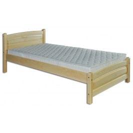 Jednolůžková postel 90 cm - Drewmax - LK 125 (masiv)