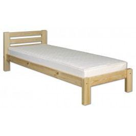 Jednolůžková postel 90 cm - Drewmax - LK 127 (masiv)