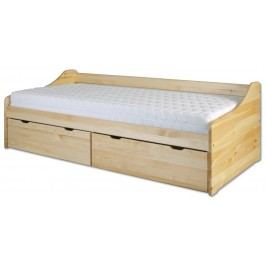 Jednolůžková postel 90 cm - Drewmax - LK 130 (masiv)
