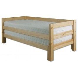 Rozkládací postel 90 až 180 cm - Drewmax - LK 134 (masiv)