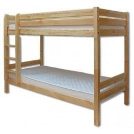 Patrová postel 90 cm - Drewmax - LK 136 (masiv)
