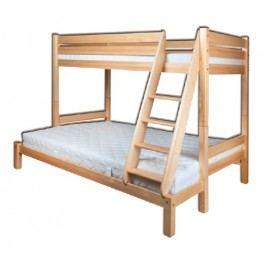 Patrová postel 90 a 140 cm - Drewmax - LK 155 (masiv)