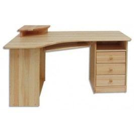 Rohový PC stolek - Drewmax - BR 104