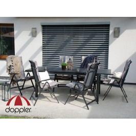 Zahradní nábytek - Doppler - Firenze Vigo 1+6 - (hliník)