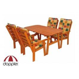 Zahradní nábytek - Doppler - Aneta 1+4 (borovice)
