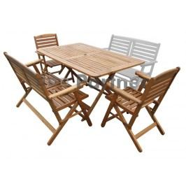 Záhradní nábytek - Deokork - Westminster 1+2+1 (Akácie)