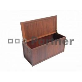 Zahradní box na sedáky - Deokork - La Rosiere (Meranti)