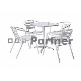 Záhradní nábytek - Deokork - Piknik 1+4 (kov)